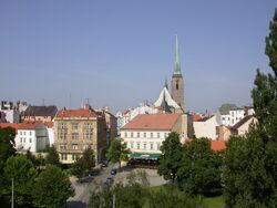 Plzen with St Bartholomew Cathedral 1.jpg