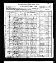 1900 census Paterson Betts