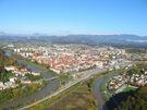 Celje - pogled z gradu