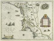 Map - Nova Belgica et Angla Nova -Early New Netherland-