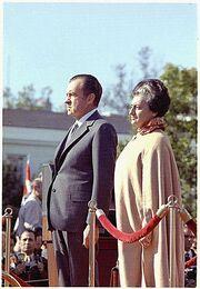Indira and Nixon
