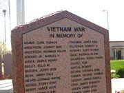 Vietnam War Memorial in Amarillo IMG 0134