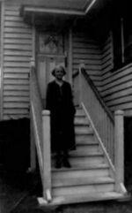 Maud Lilley Burgess (1875-1962) wife of Albert Thomas Arthur Stickler - photo 1941