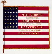 17th Ohio Volunteer Infantry regimental colors