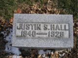 Justin Smith Hall (1840-1928)