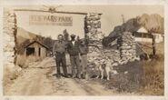 Elk Falls Ranch in Park County, Colorado circa 1940-1945
