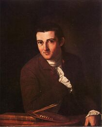 Self Portrait John Trumbull 1777