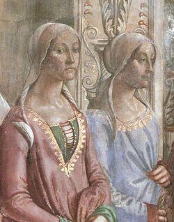 Clarice Orsini and Bianca Maria de' Medici