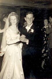 Margaret & Joseph Szczesny Dancing at Wedding