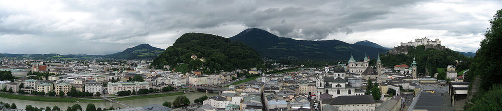 Salzburg Altstadt Panorama