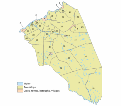 Burlington County, New Jersey Municipalities