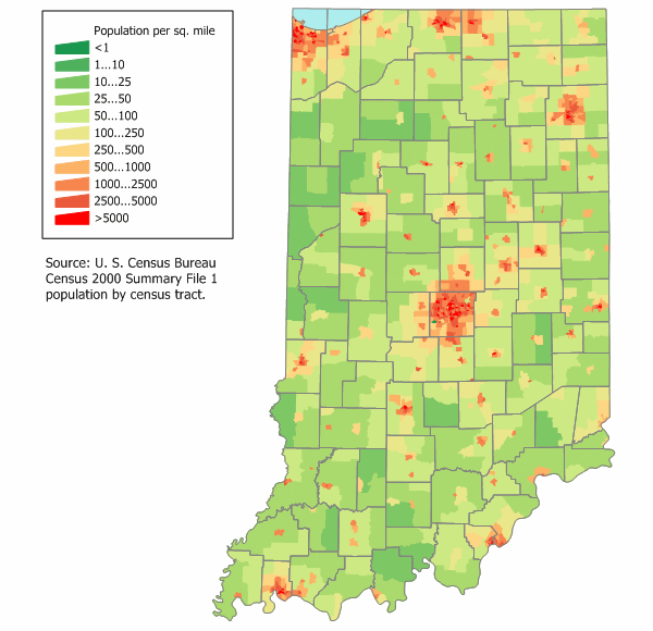 population of indiana