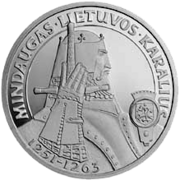 Mindaugas the King of Lithuania Reversum