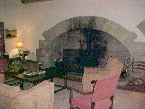 Ogle Castle interior