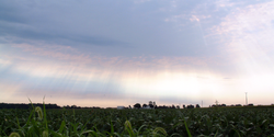 Carroll County, Indiana cloudscape