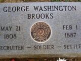George Washington Brooks (1808-1887)