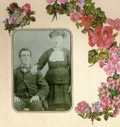 Hendrik and Wilhelmina Wolters wedding