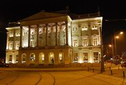 Wroclaw Opera by night