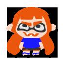 S2 Mem Cake Inkling Girl (Orange)