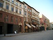 Martin scorsese gangs of new york set in cinecitta italy