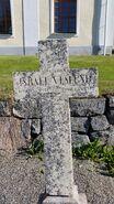 Tombstone of Reverend Israel Israelsson Näslund III (1796-1858), 1
