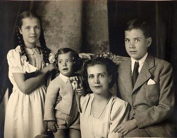 Familia lui Eugen Filotti la Budapesta