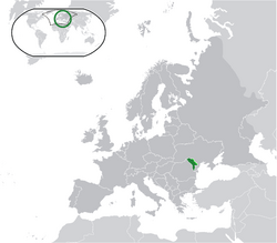 Location Moldova Europe