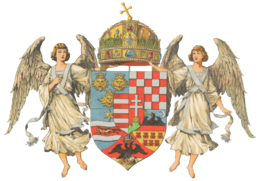 Wappen Ungarische Länder 1867 (Mittel)