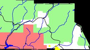 Map of Archuleta County, Colorado