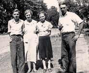 Richard, Mabel, Doris, and Jess Hunt