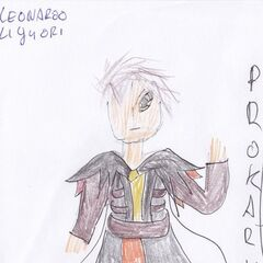 Leonardo as he appears in the PMMM fan universe. (outdated)