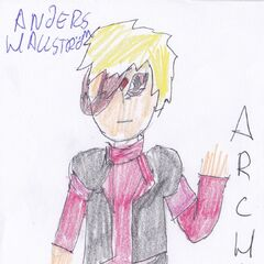 Anders as he appears in the PMMM fan universe. (outdated)