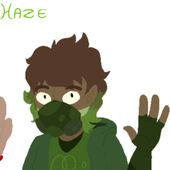 Clara's future form, Haze.