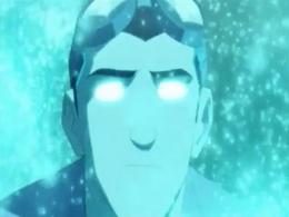 Rex energia azul, ojos azules
