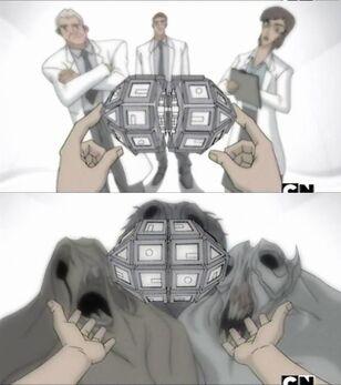 Uno De los tantas secuencias de sueño de Rex