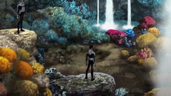 Aquania en Tierra de desperdicios