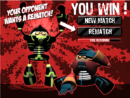 Ultra Rex le gano a Rex - TKO
