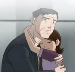 Meechum abrasando a su hija