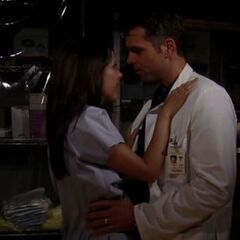 Patrick and Robin have a quickie in the supply closet