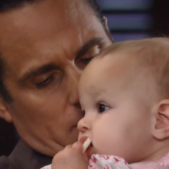 Avery and her dad (Michael gives Avery back to Sonny)