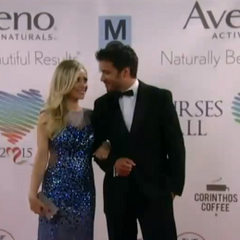 Lulu and Dante on the red carpet
