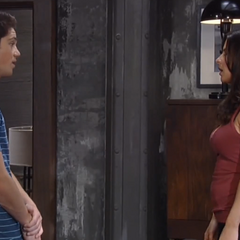 Rafe tells Sam he doesn't want to go to Danny's party