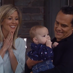 Sonny and Carly reunite with Avery