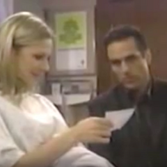 Sonny and Carly look at Morgan's sonogram