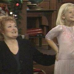 Serena and aunt Charlene