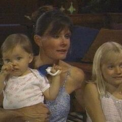 Christina with her mom and sister