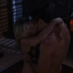Nathan and Maxie make love for the first time
