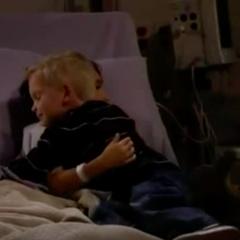 Hugging Jake
