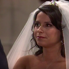 Robin says her vows to Patrick