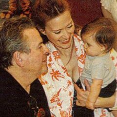 Alan with daughter Skye and granddaughter Lila Rae
